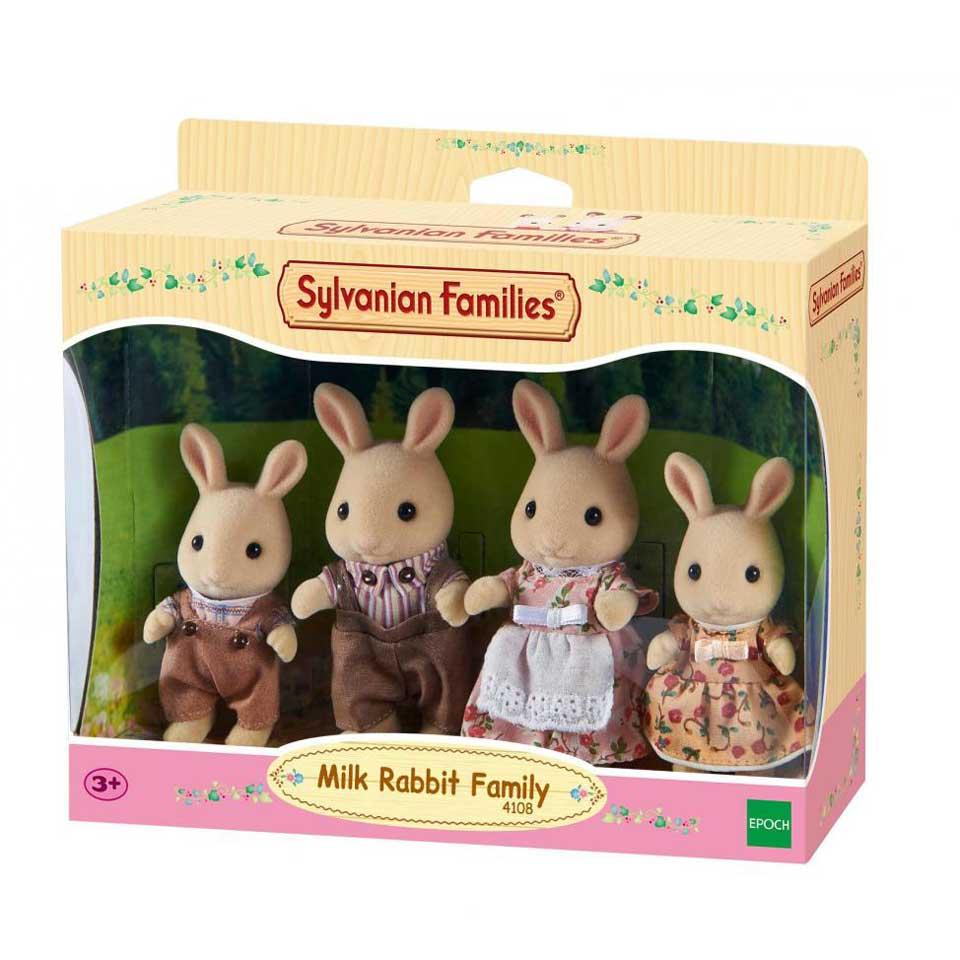 Sylvanian Families familie Wit Konijn 4108