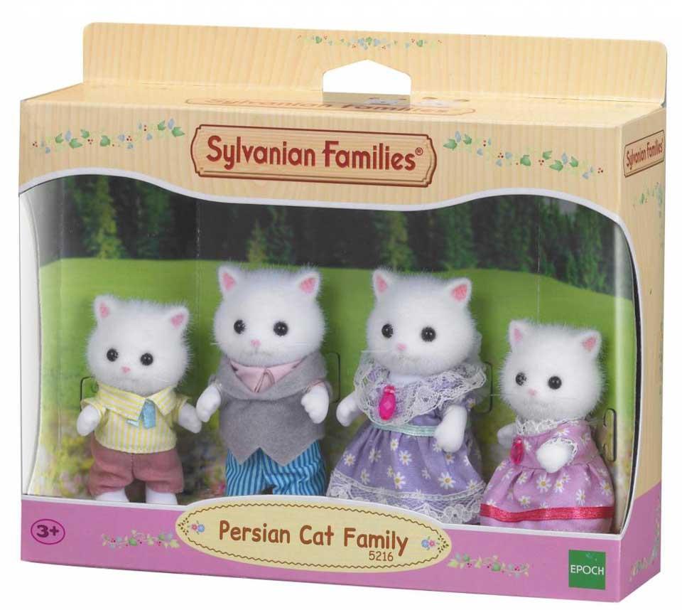Sylvanian Families familie Perzische Kat 5216