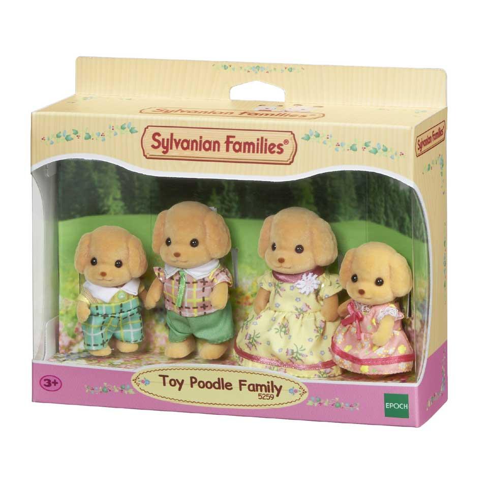 Sylvanian Families familie Poedel 5259