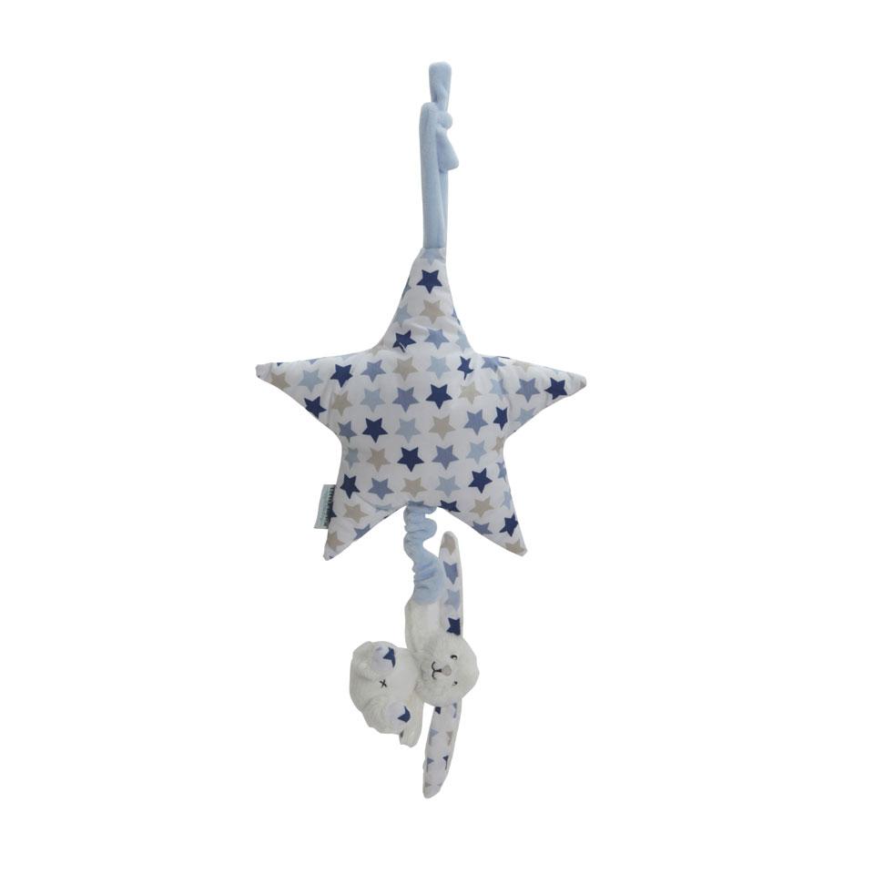 Little Dutch Mixed Stars Blue muziekdoosje - blauw