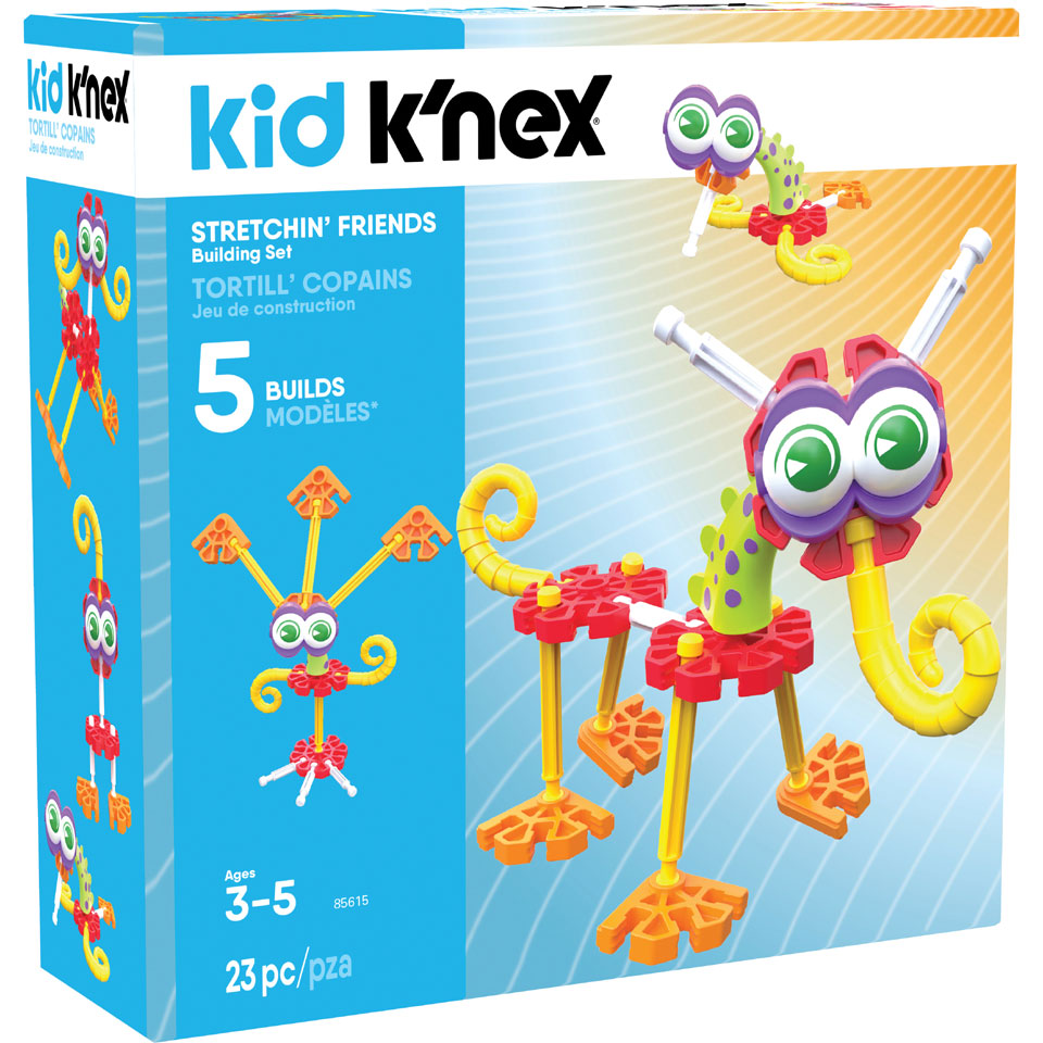 Kid K'NEX Stretchin' Pals bouwset