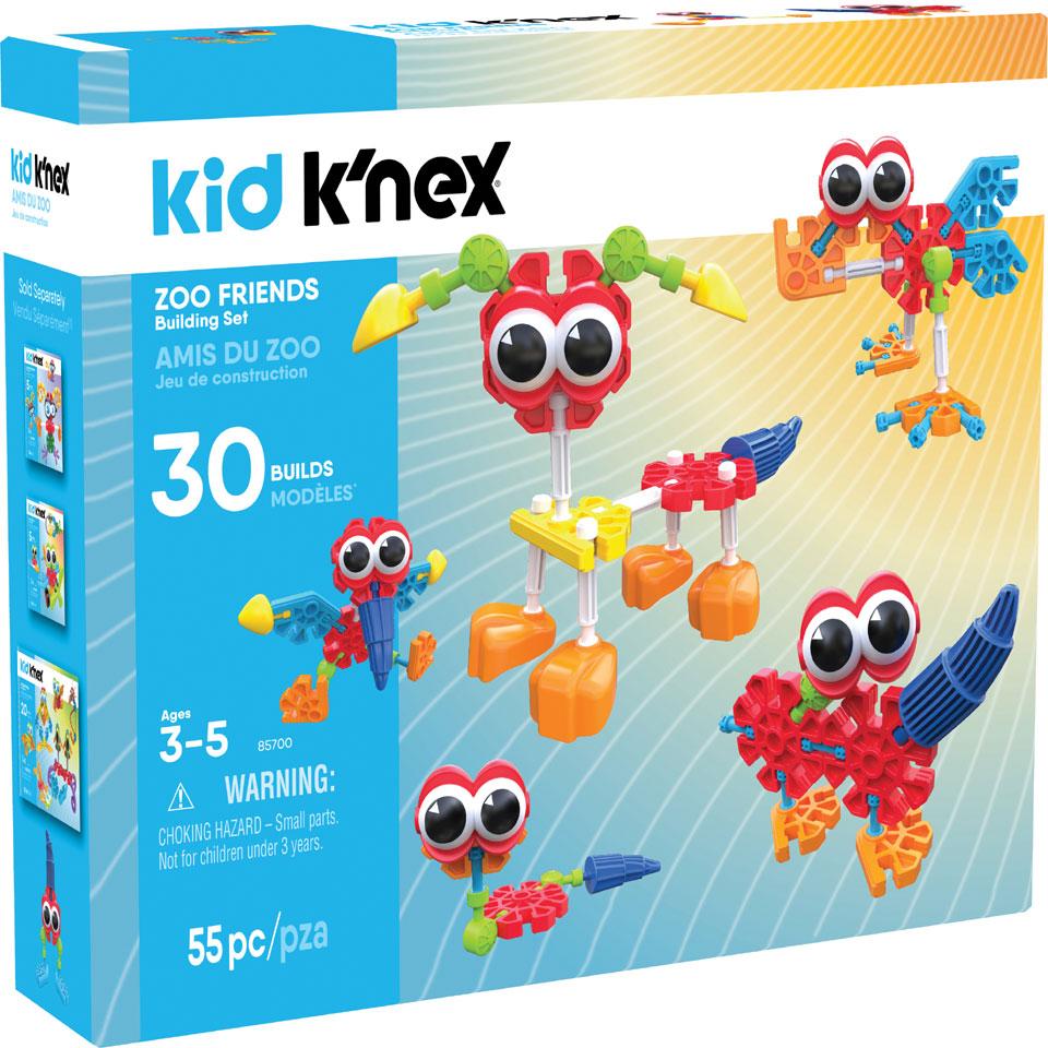 Kid K'NEX dierentuin vrienden bouwset