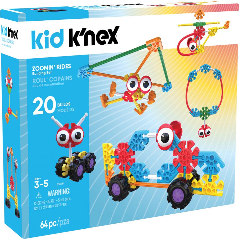 Kid K'NEX Zoomin' Rides bouwset