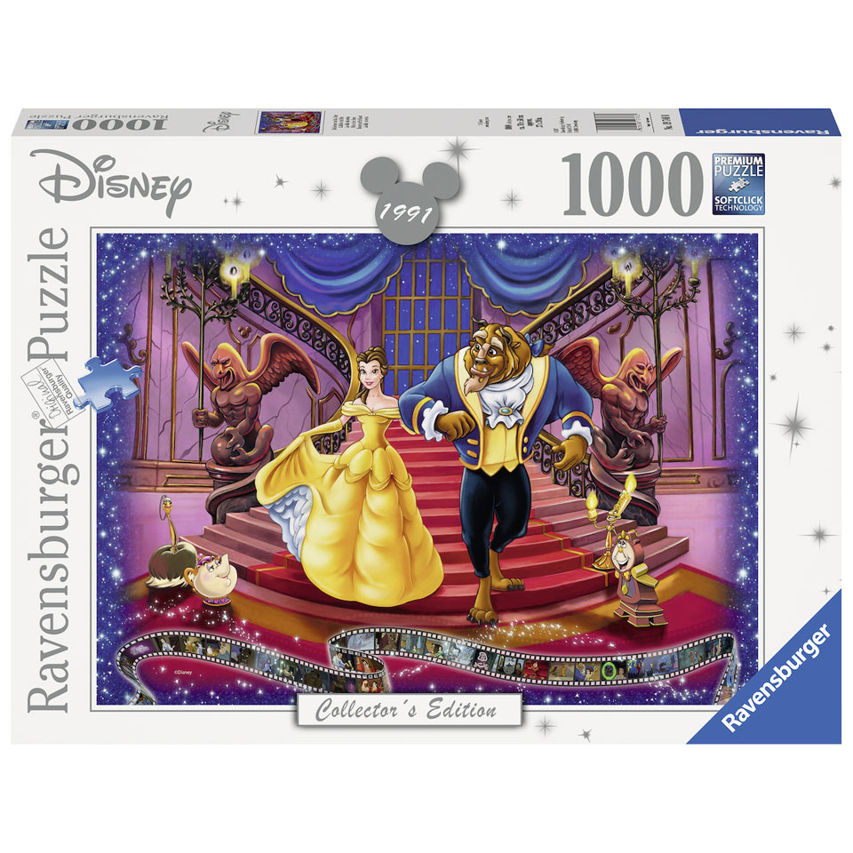 Ravensburger Disney Belle en het Beest puzzel - 1000 stukjes