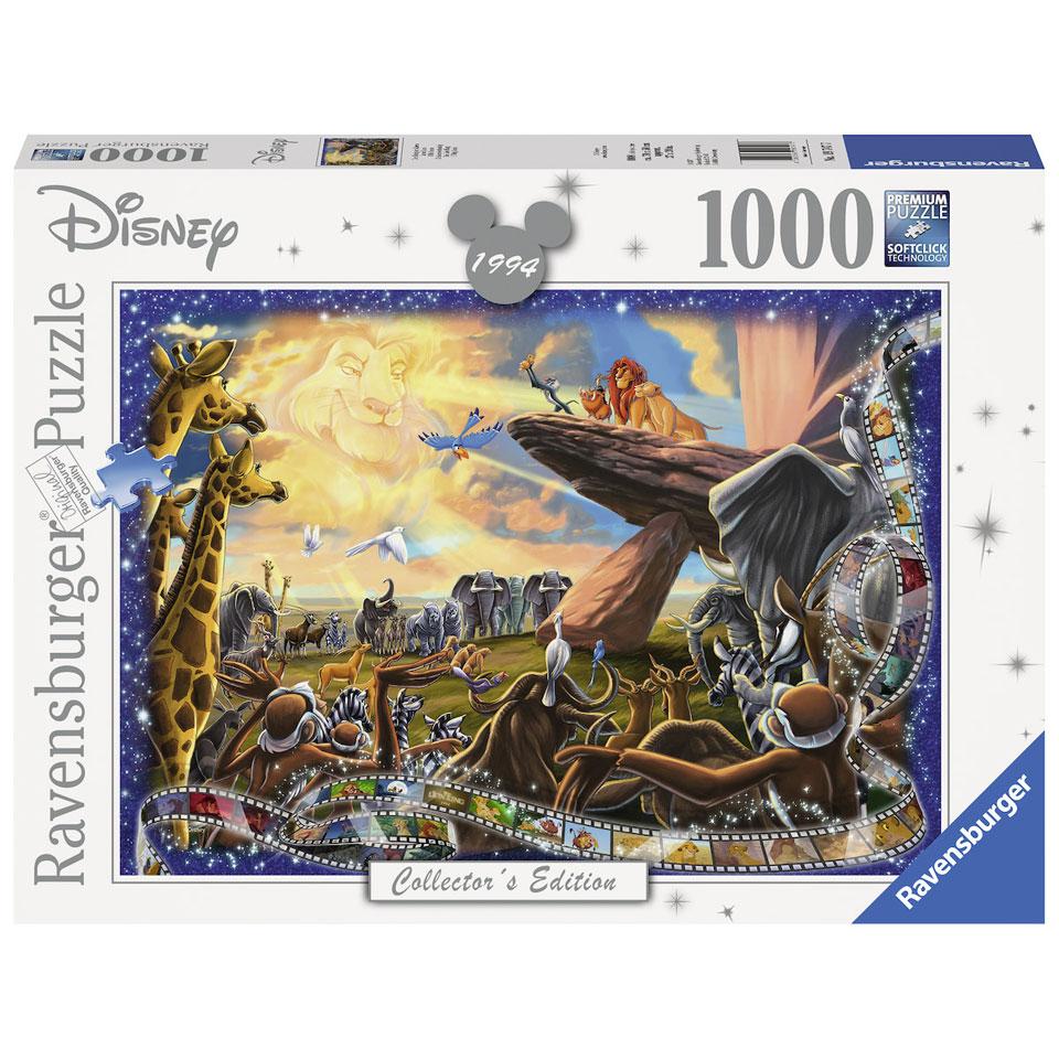 Ravensburger Disney De Leeuwenkoning puzzel - 1000 stukjes