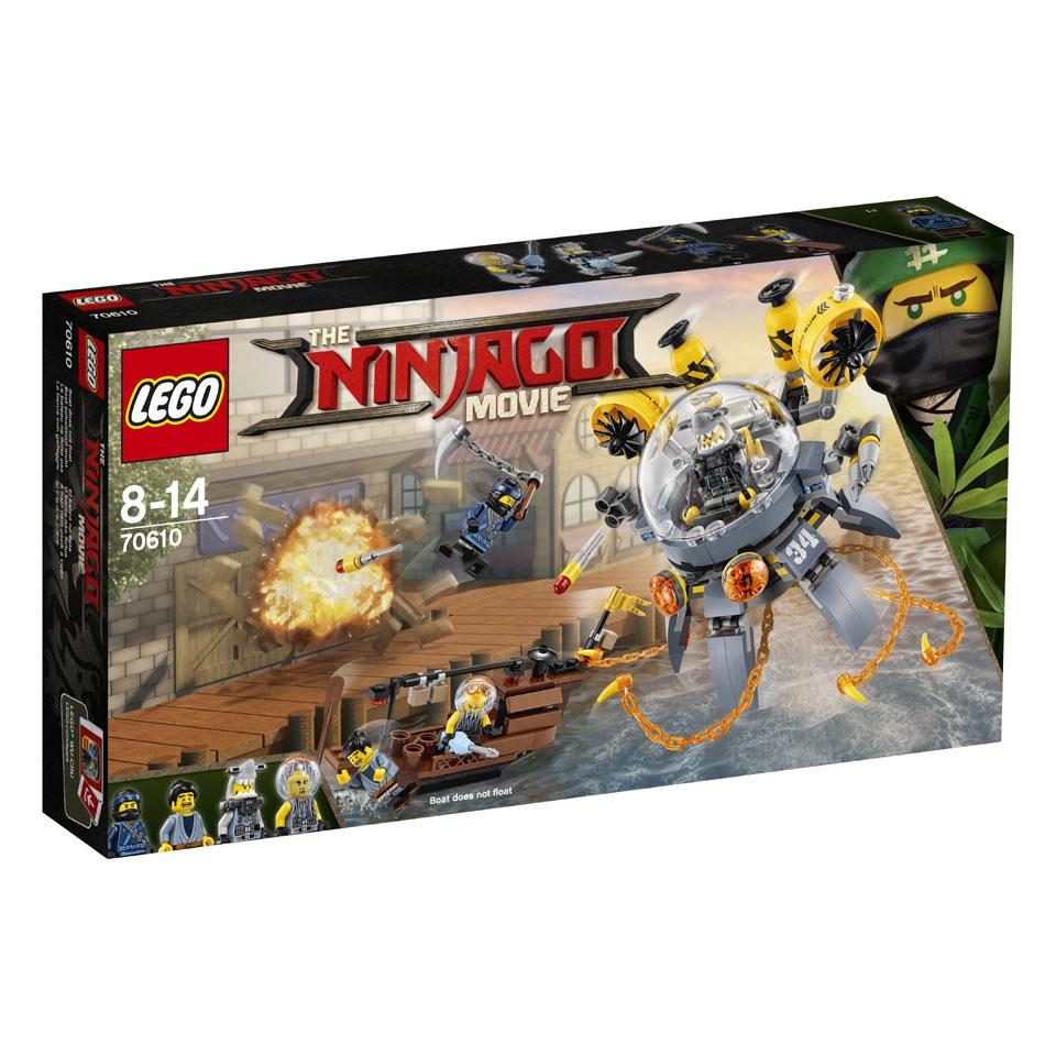 LEGO Ninjago Vliegende kwal duikboot 70610