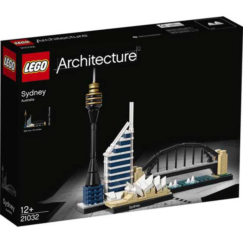 LEGO Architecture Sydney bouwstenen