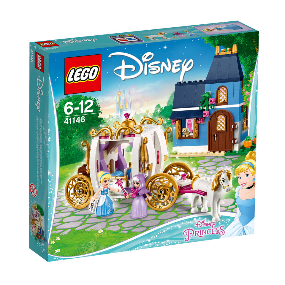 LEGO Disney Princess Assepoesters betoverende avond 41146