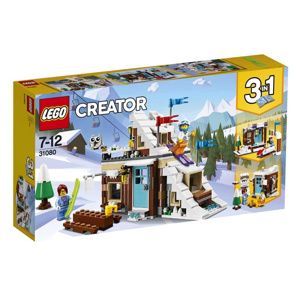 LEGO Creator modulaire wintervakantie 31080