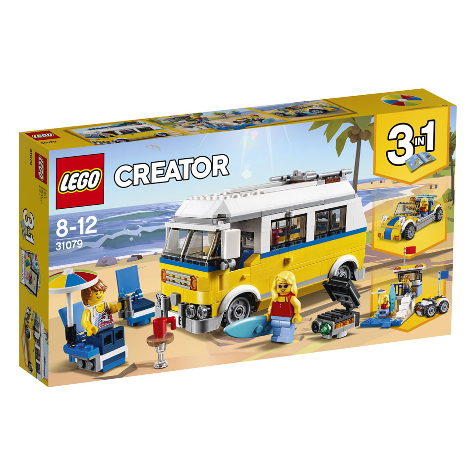 LEGO Creator zonnig surferbusje 31079