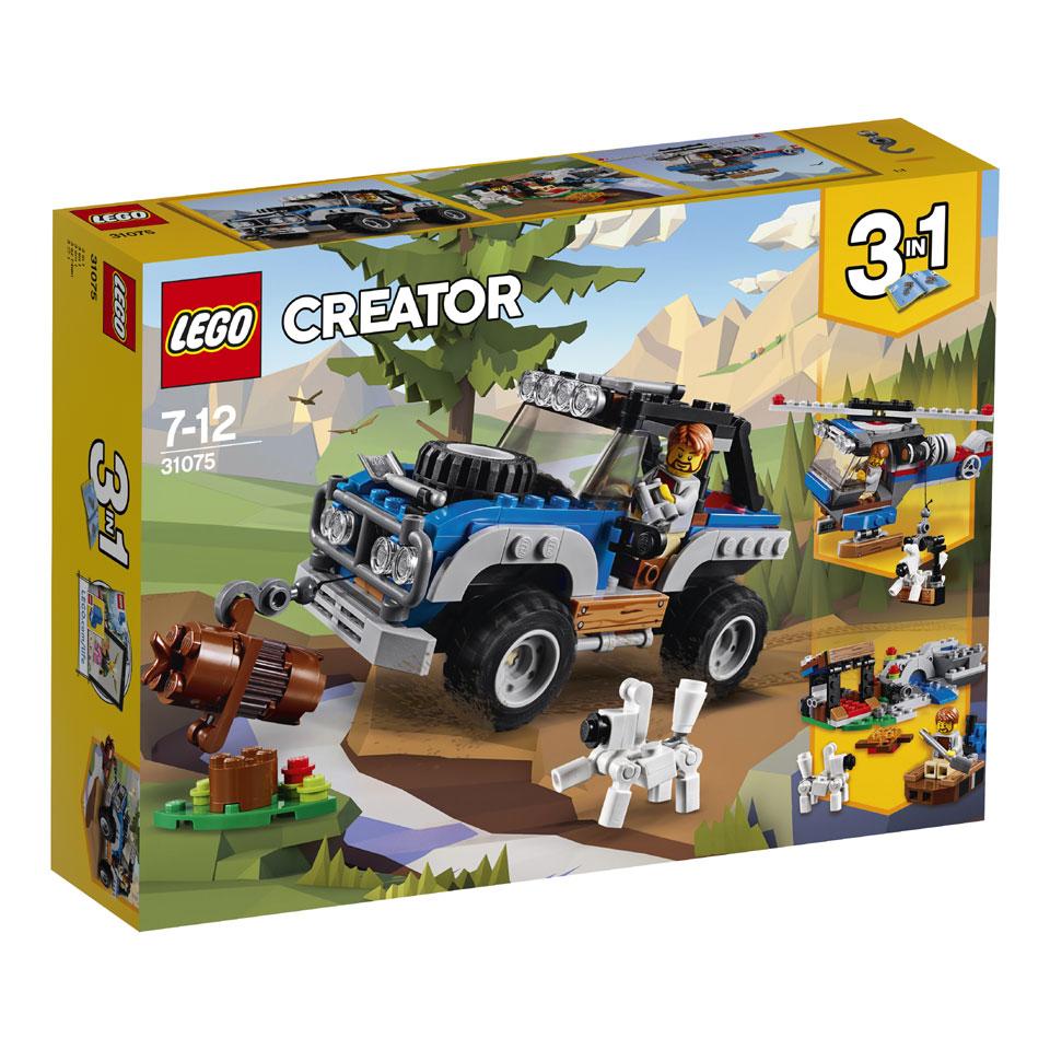 LEGO Creator avonturen in de wildernis 31075