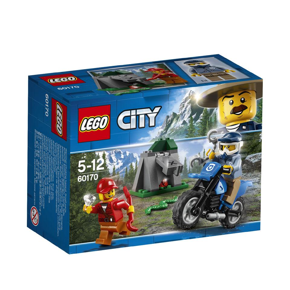 LEGO City off-road achtervolging 60170