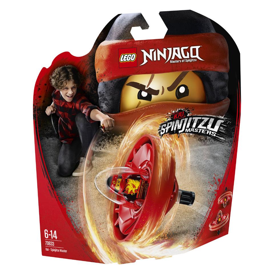 LEGO Ninjago Kai Spinjitzumeester 70633