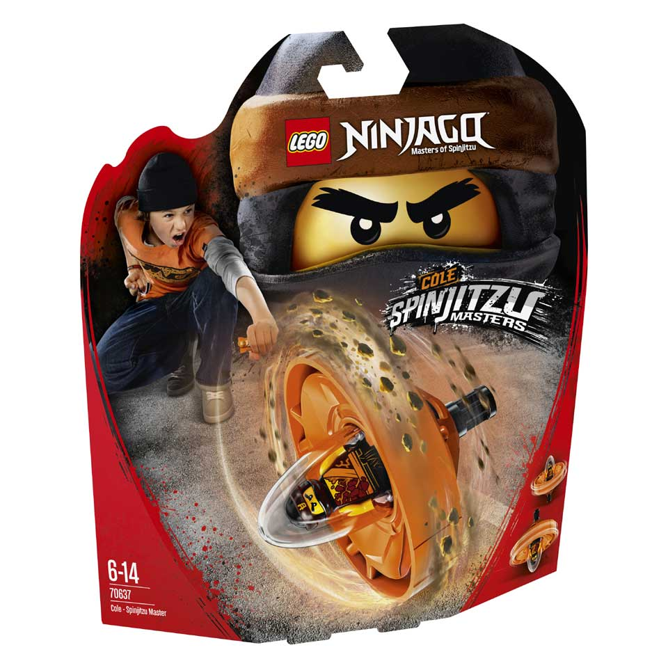 LEGO Ninjago Cole Spinjitzumeester 70637