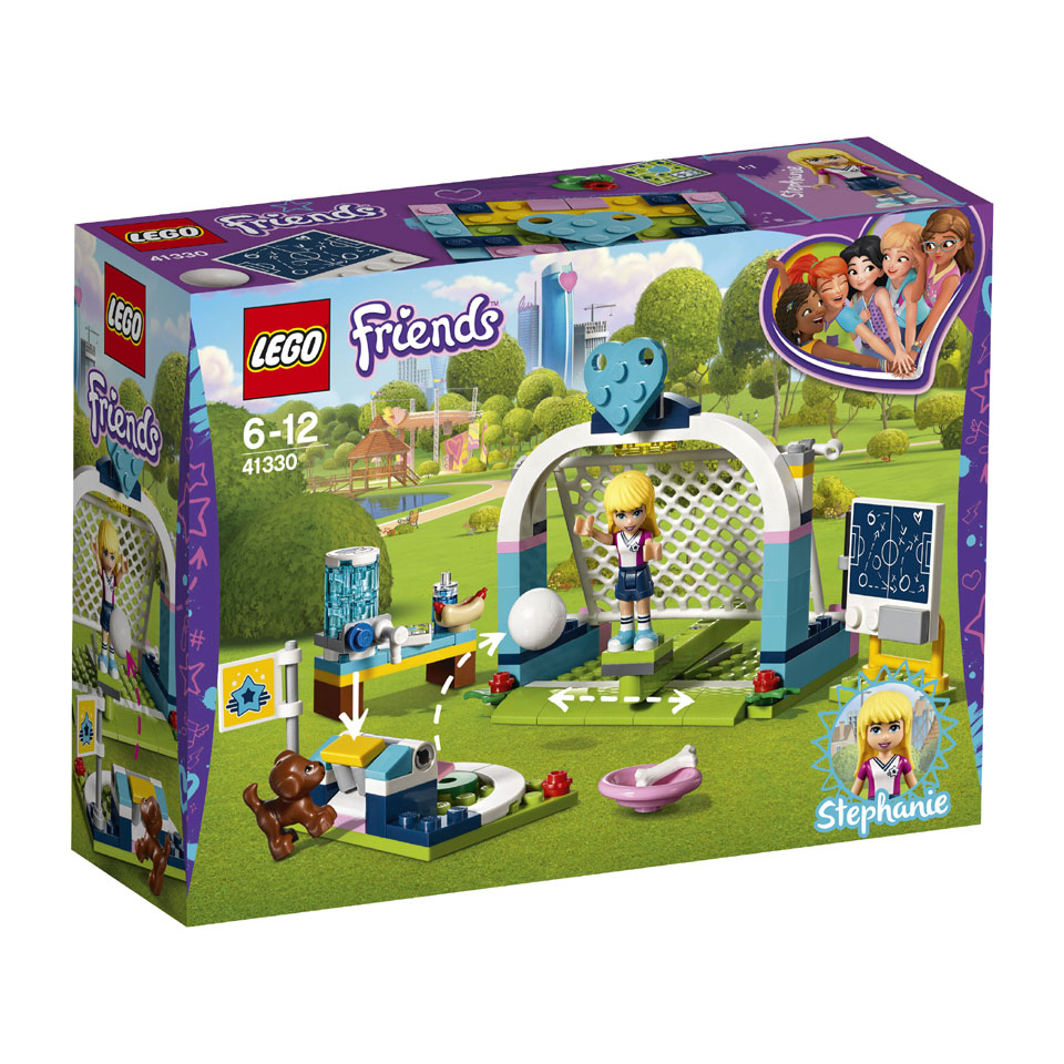 LEGO Friends Stephanies voetbaltraining 41330