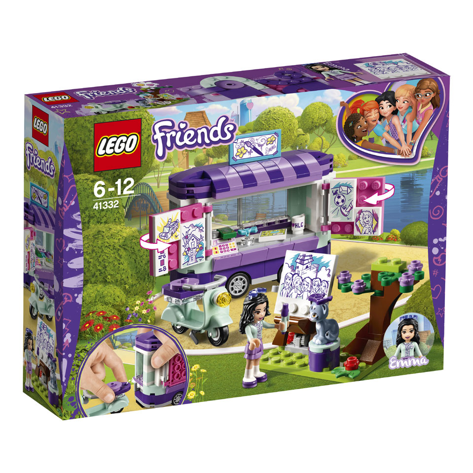 LEGO Friends Emma's kunstkraam 41332