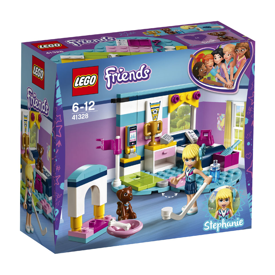 LEGO Friends Stephanies slaapkamer 41328
