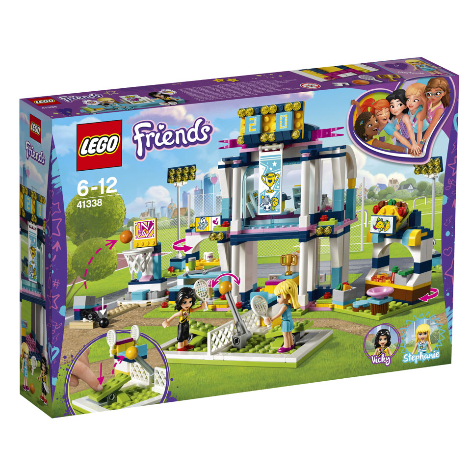 LEGO Friends Stephanies sportstadion 41338