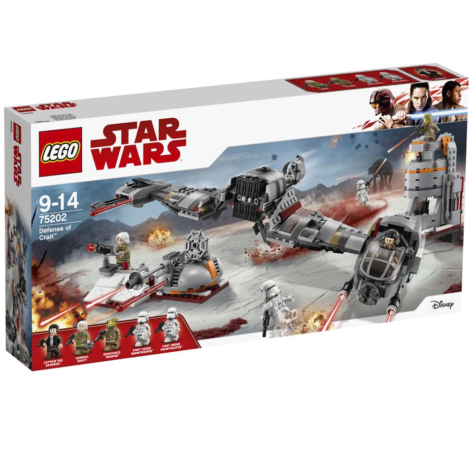 LEGO Star Wars verdediging van Crait 75202