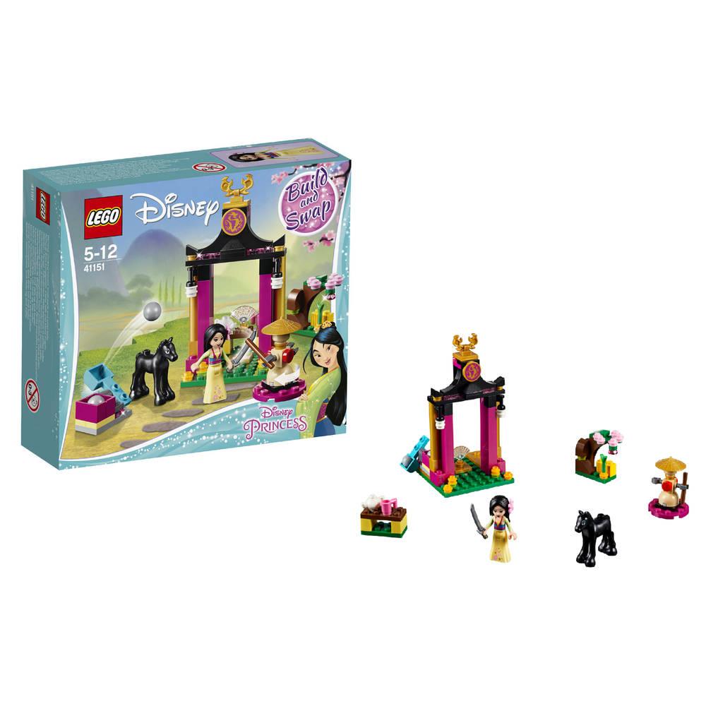 LEGO Disney Princess Mulans trainingsdag 41151