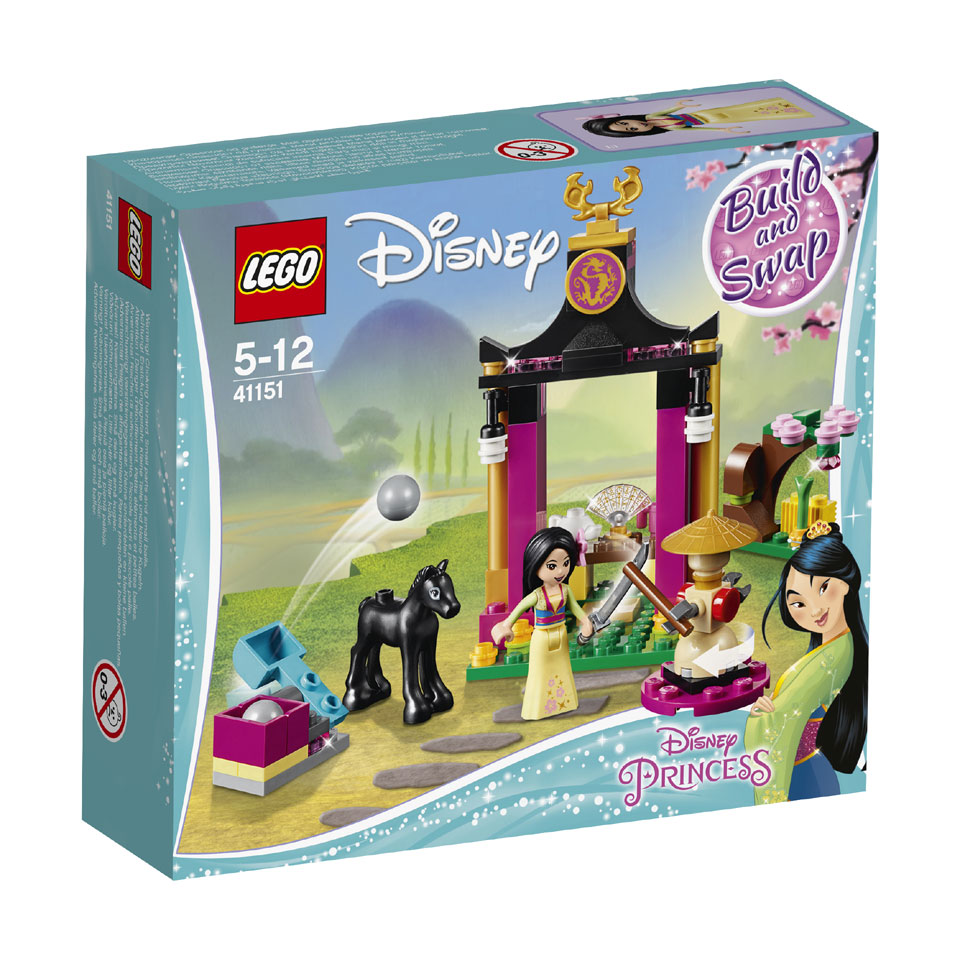LEGO Disney Princess Mulans trainingsdag 41151