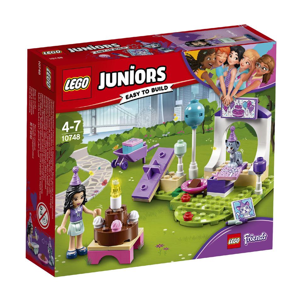 LEGO Juniors Emma's huisdierenfeestje 10748