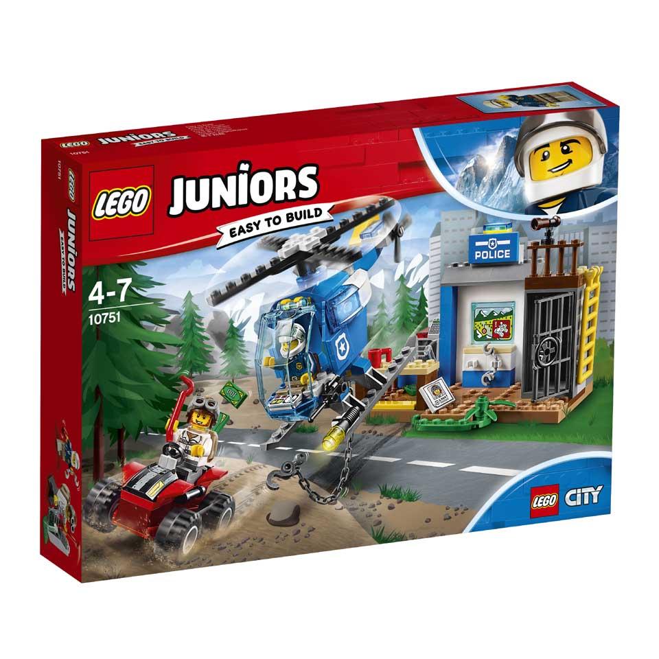 LEGO Juniors politie-achtervolging 10751