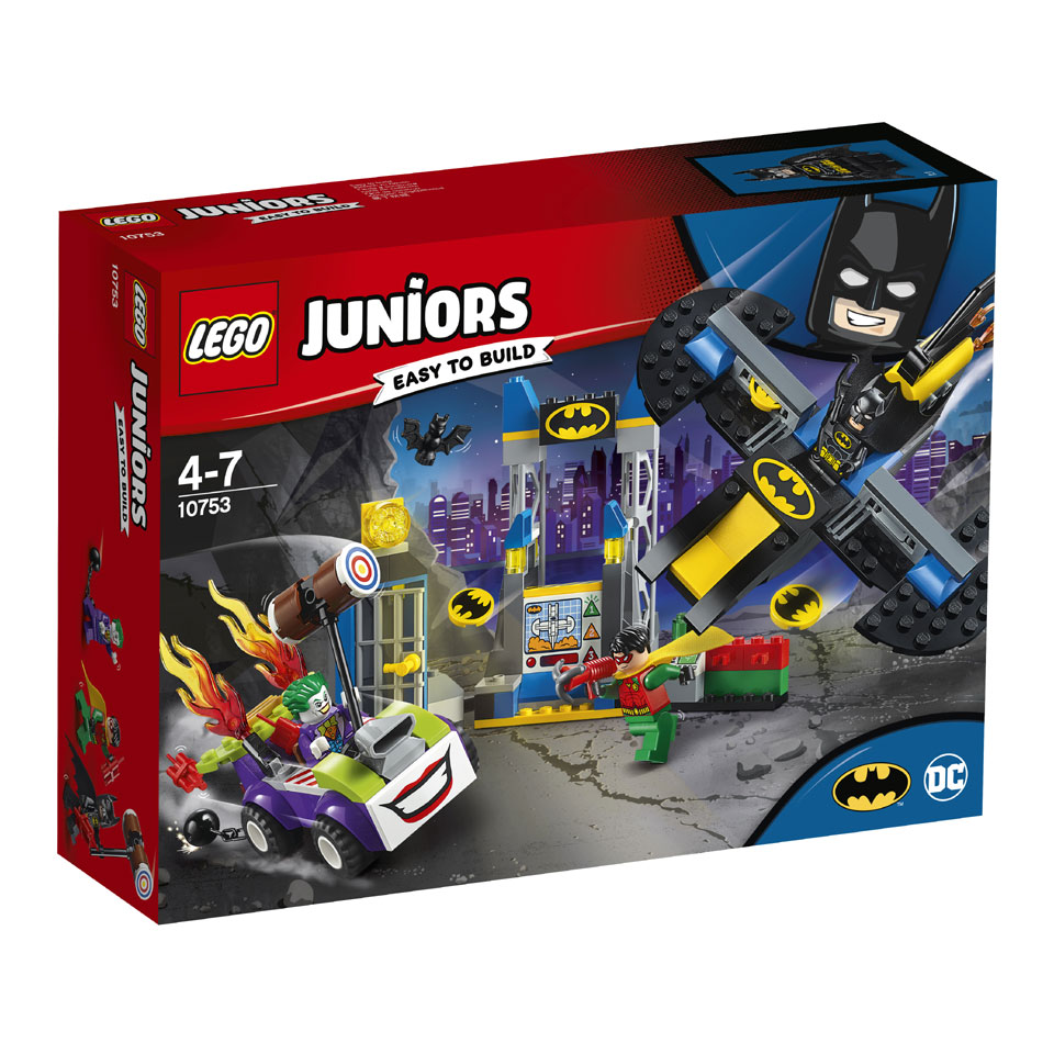 LEGO Juniors The Joker Batgrot aanval 10753