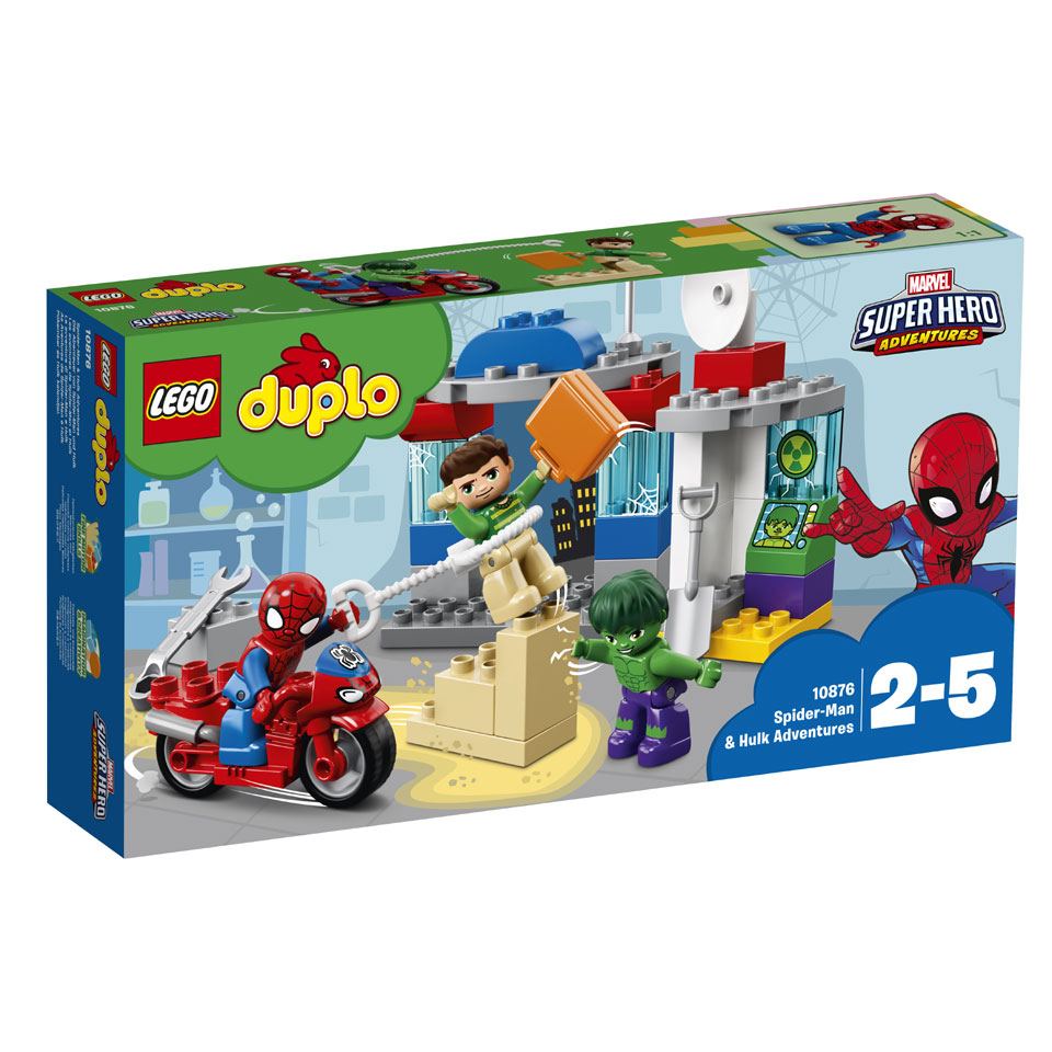 LEGO DUPLO avonturen van Spider-Man en Hulk 10876