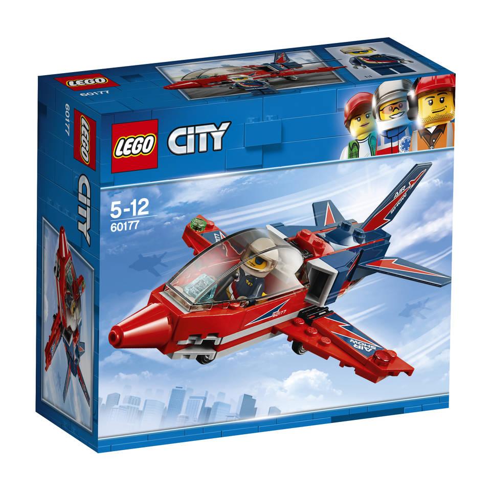 LEGO City vliegshowjet 60177