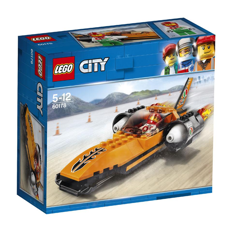 LEGO City snelheidsrecordauto 60178