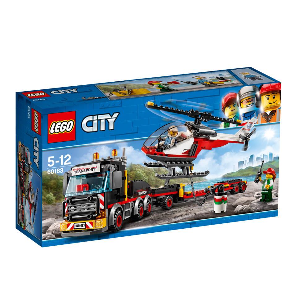 LEGO City zware-vrachttransporteerder 60183