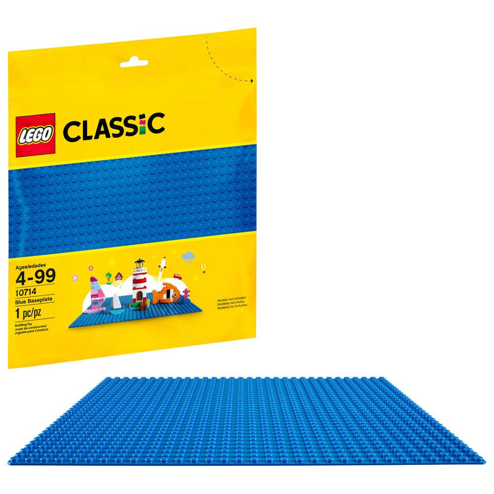 LEGO Classic blauwe basisplaat 10714