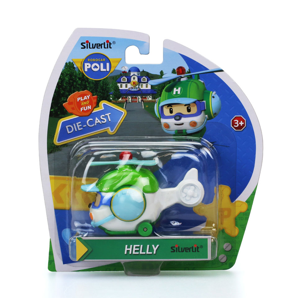 Robocar Poli die-cast Helly