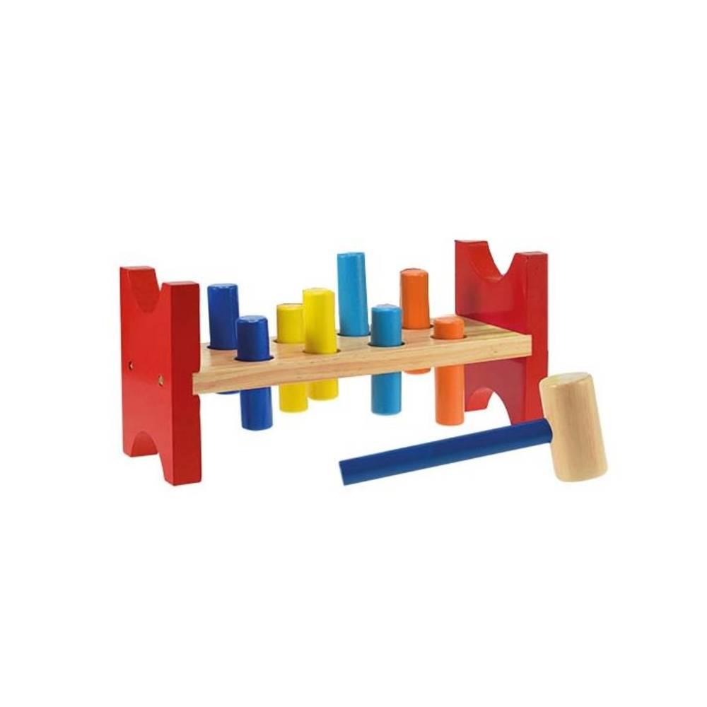 Toi-toys houten werkbank 10-delig - 27 cm