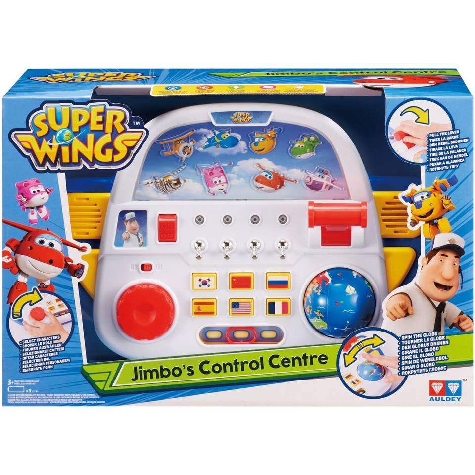 Super Wings speelset Jimbo`s control center