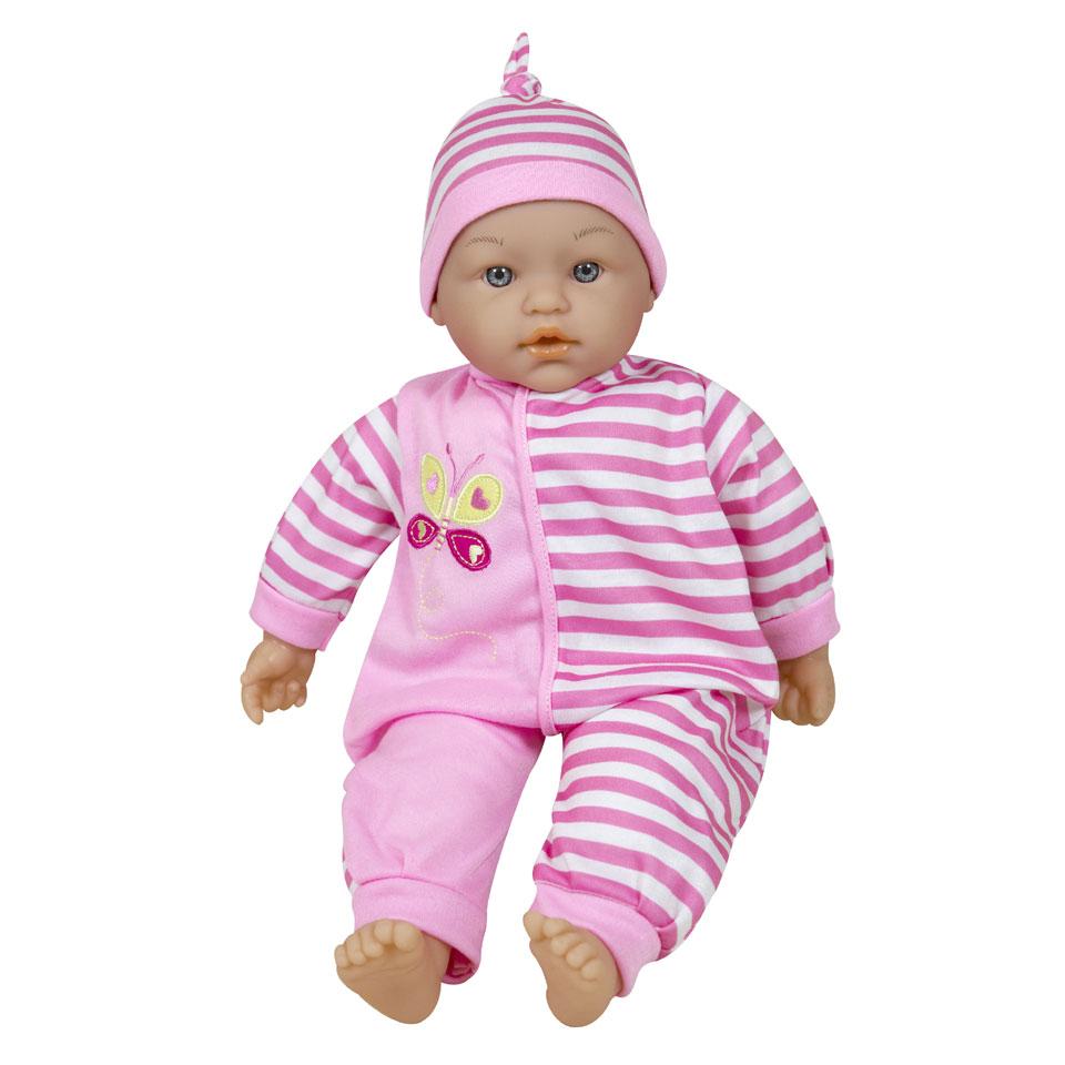 Lissi babypop met 24 geluiden - 38 cm