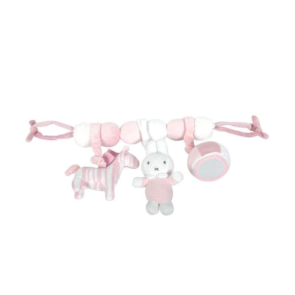Tiamo wagenspanner Nijntje - roze