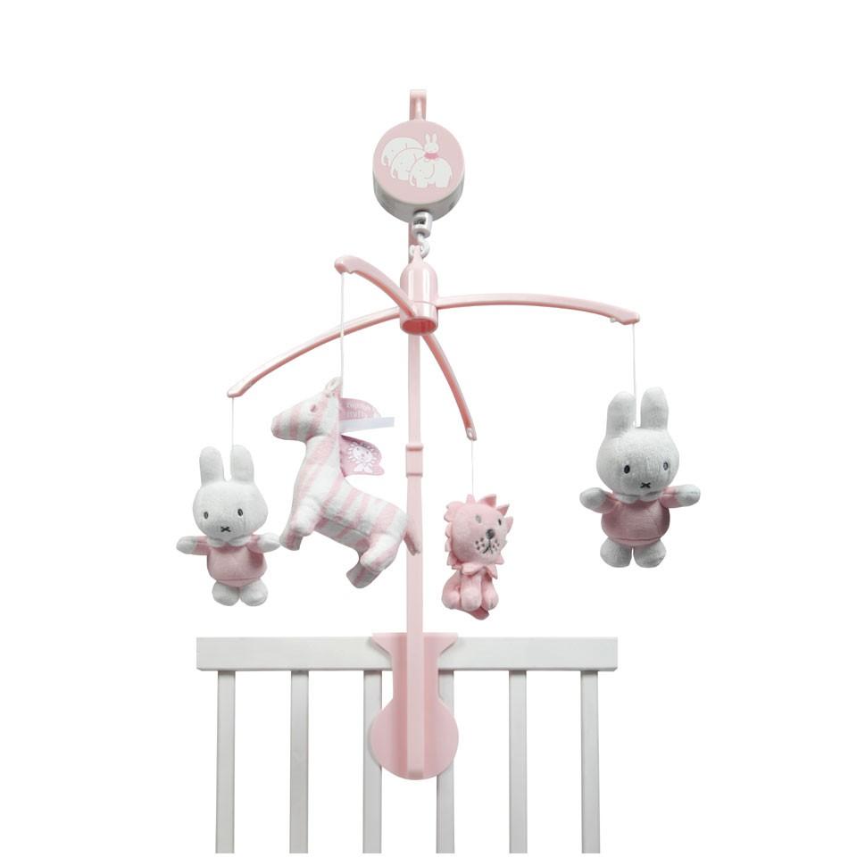 Tiamo muziekmobiel Nijntje - roze