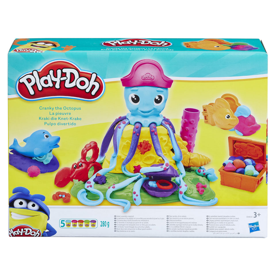 Play-Doh Okkie de Octopus