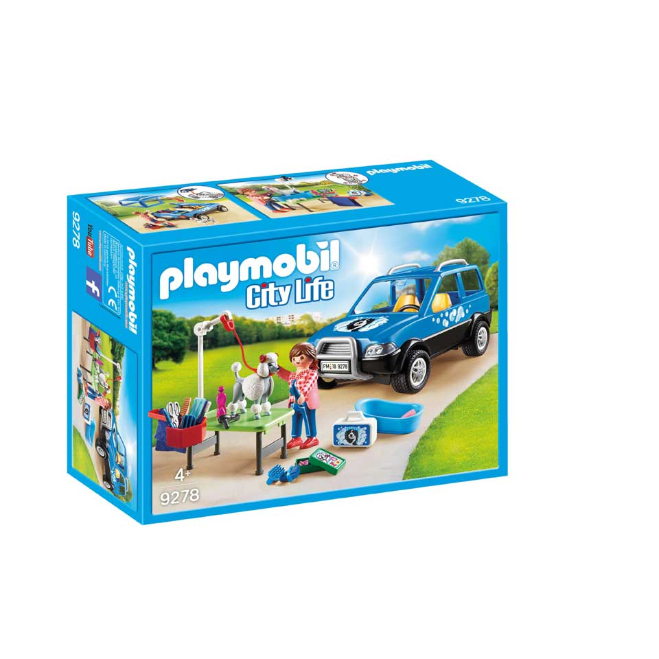 PLAYMOBIL City Life mobiel hondensalon 9278