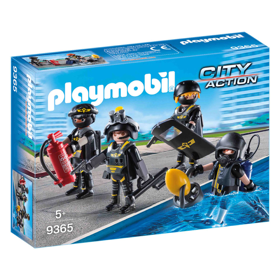 PLAYMOBIL City Action SIE-team 9365