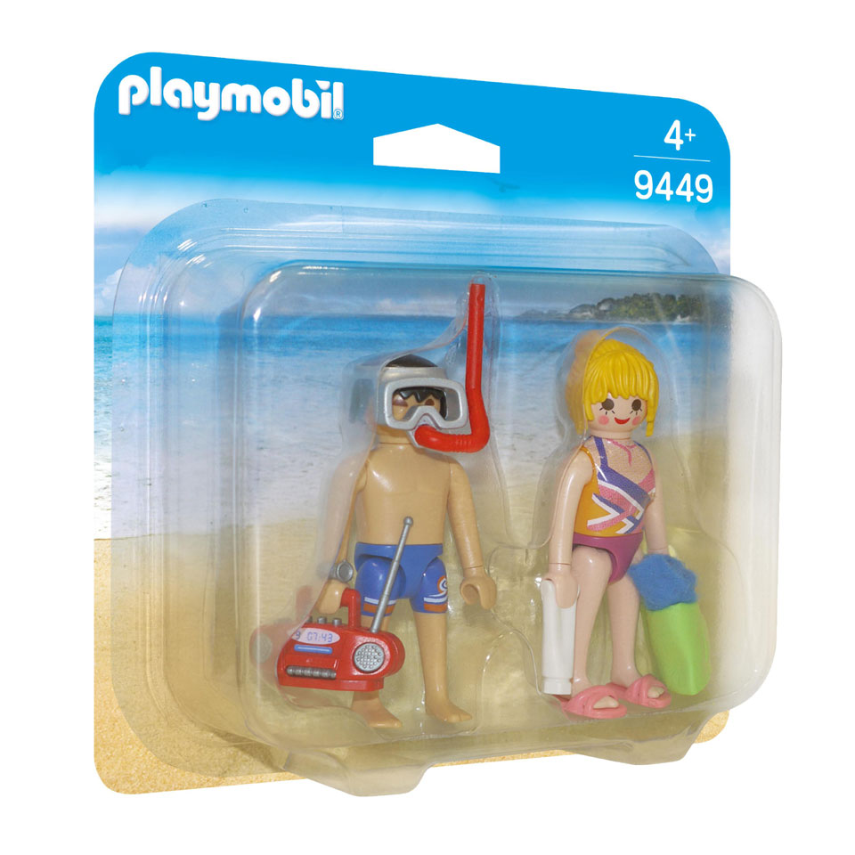 PLAYMOBIL DuoPack badgasten 9449
