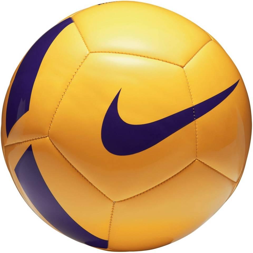 Nike Pitch Team voetbal - geel/paars