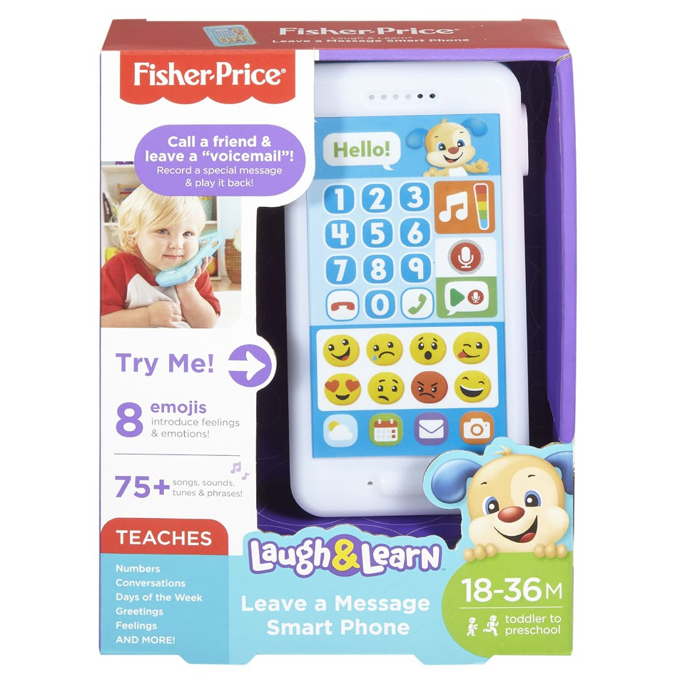 Fisher-Price leerplezier puppy peutertelefoon
