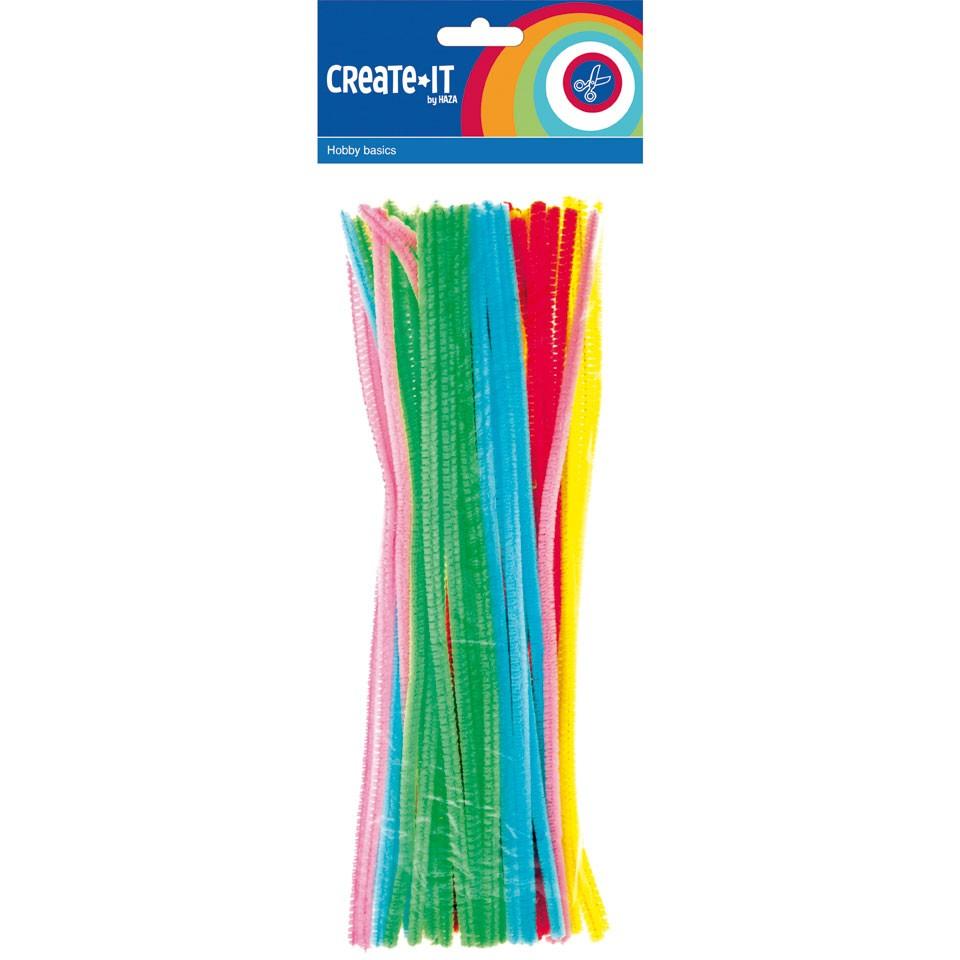 Create-it chenilledraad - 50 stuks