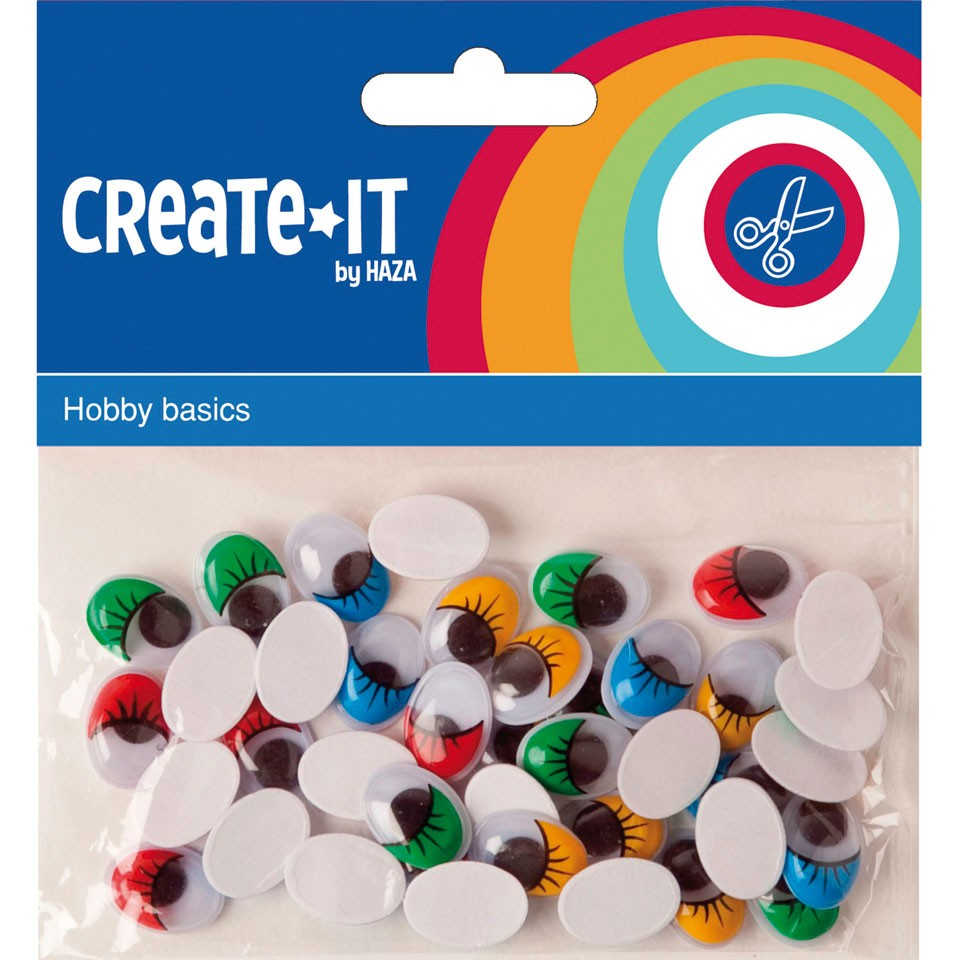 Create-it bewegende ogen set 75-delig