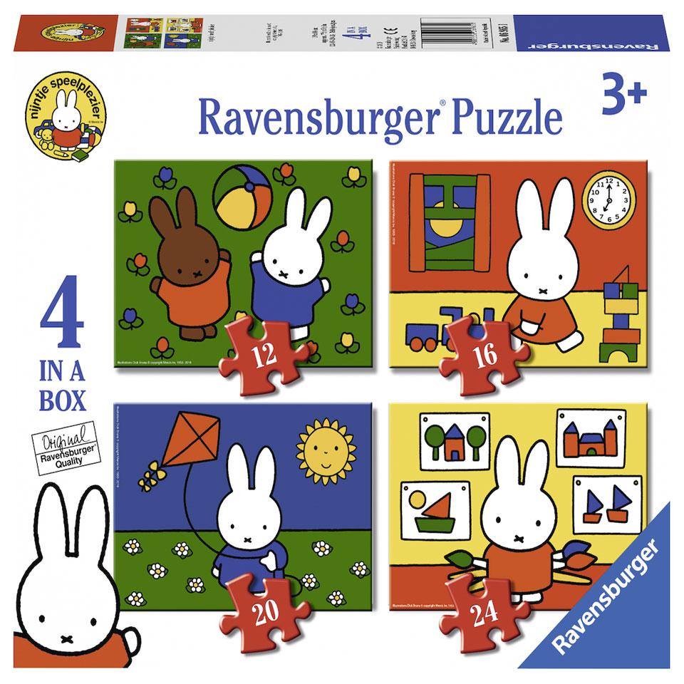 Ravensburger Nijntje puzzelset - 12 + 16 + 20 + 24 stukjes