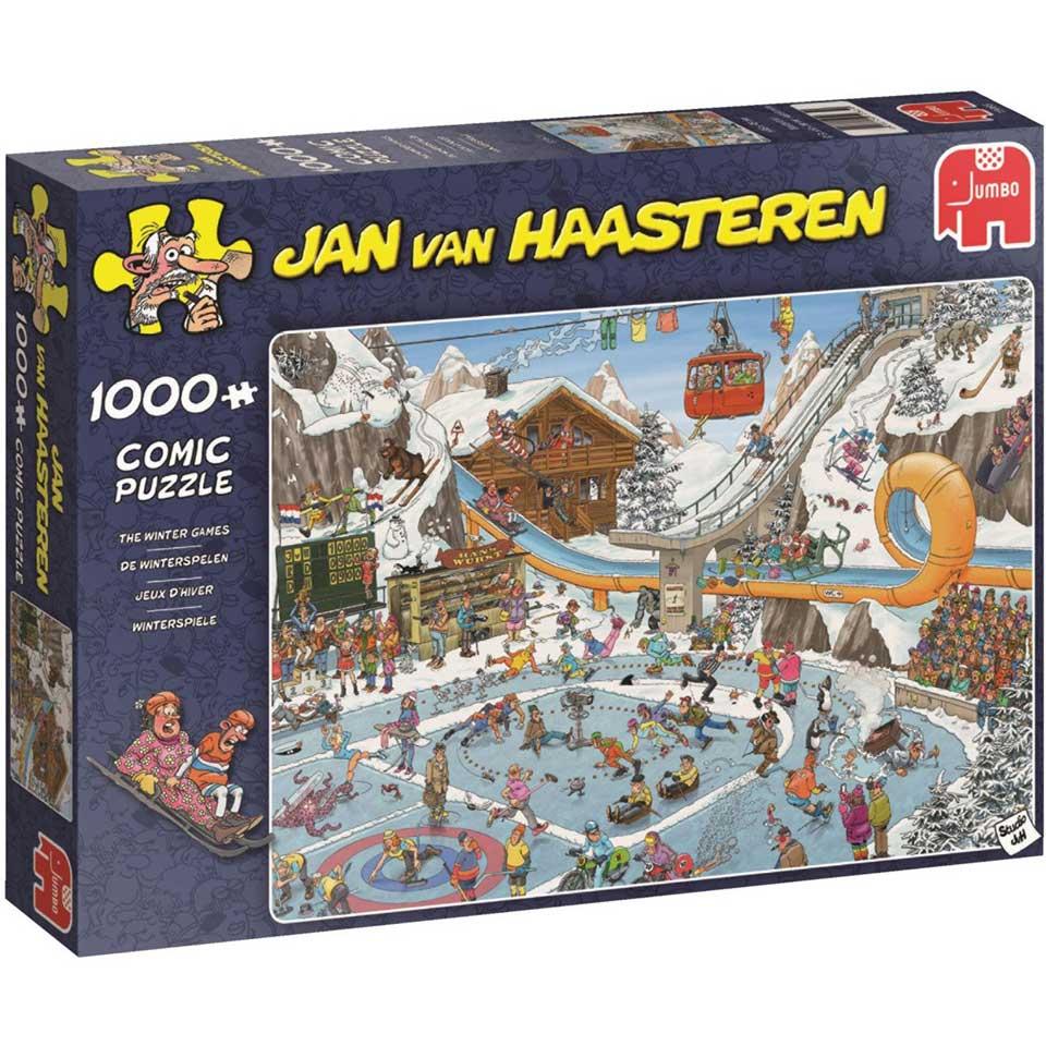 Jumbo Jan van Haasteren puzzel De Winterspelen - 1000 stukjes