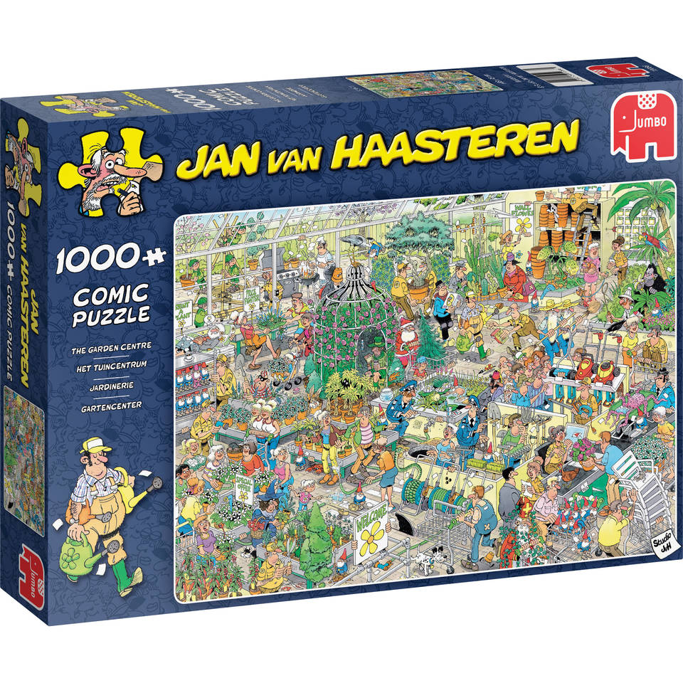 Jumbo Jan van Haasteren puzzel Het tuincentrum - 1000 stukjes